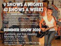 Auditions: RMDS Summer Show 2020