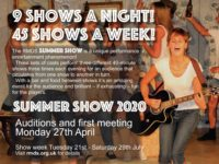 Auditions – Summer Show 2020