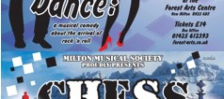 MILTON MUSICAL SOCIETY are excited to announce their next two theatrical productions