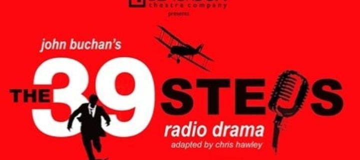 BlackBox Theatre Company presents 'The 39 Steps Radio Drama'